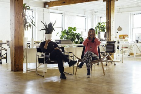 Anton & Irene, interactive design duo