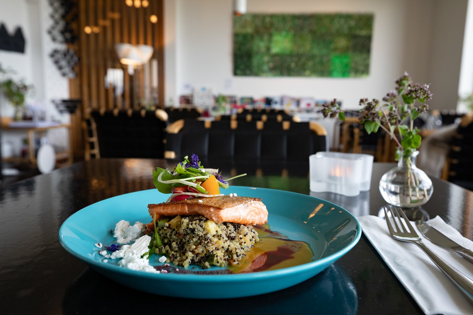 A Marshful of Seafood: Wholesome Nordic Wholesomeness In The Accordion House