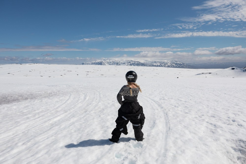 Road To Nowhere: Snowmobiling On Langjökull Glacier
