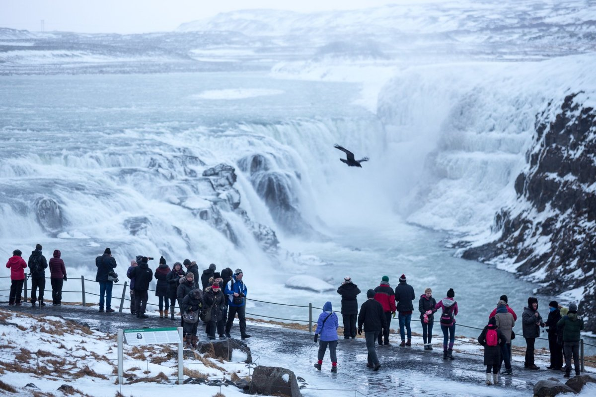 Storms And Stampedes: A Grumpy Icelander Does The Golden Circle