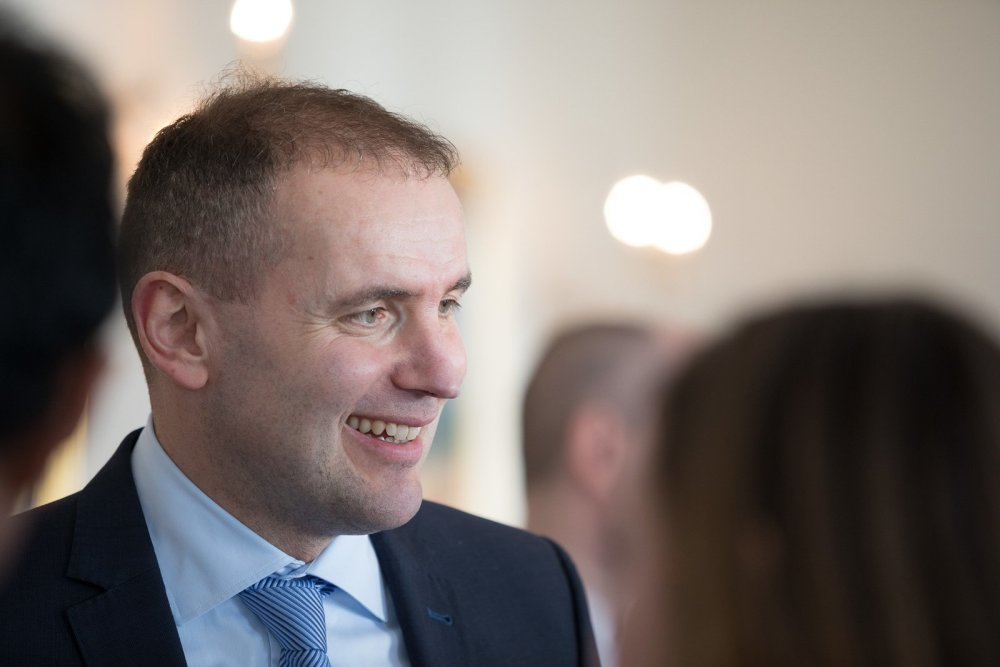 President Of Iceland Turns 50
