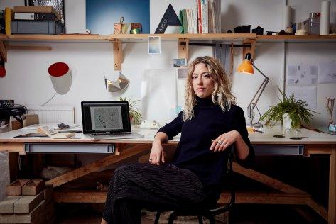 Marjan Van Aubel, solar designer