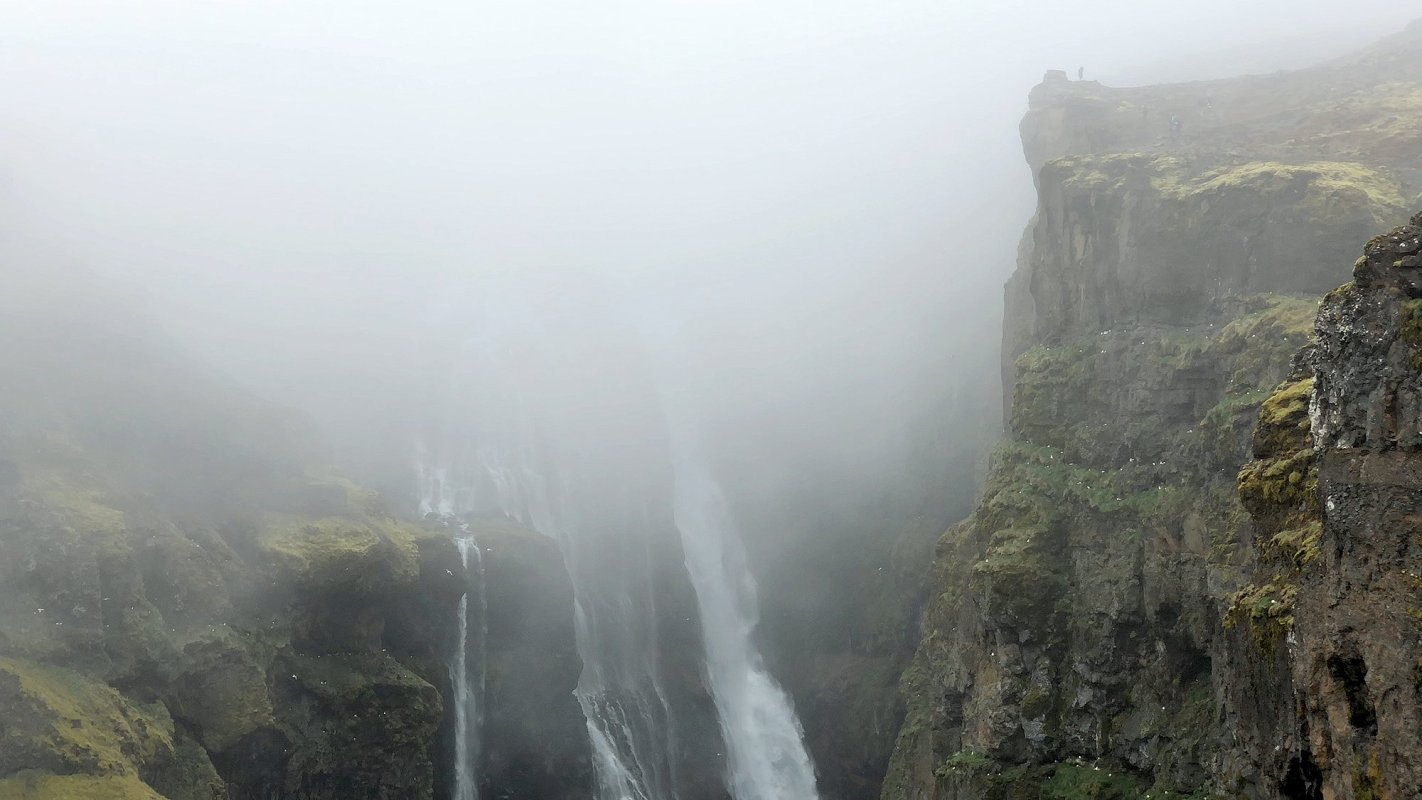 Two Minutes At Glymur, One Of Iceland's Highest Waterfalls
