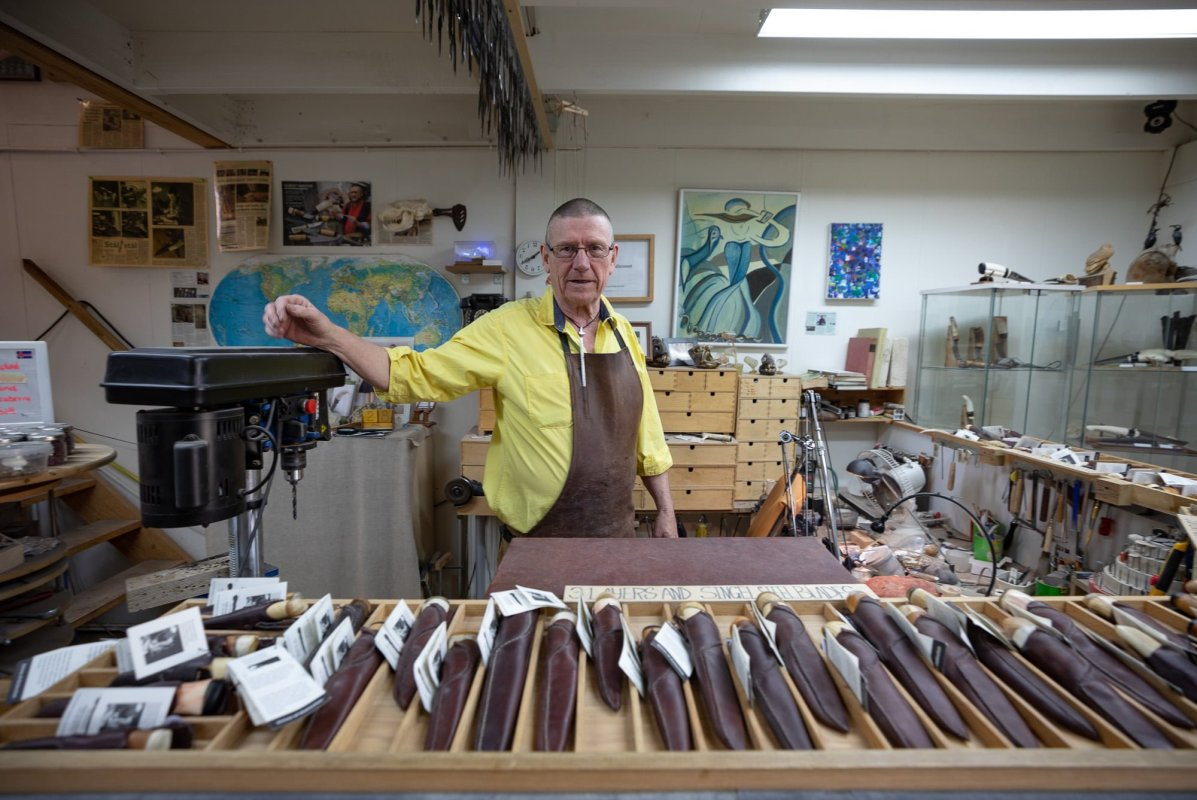 He Studied The Blade: A Visit To Iceland's Premiere Knifemaker