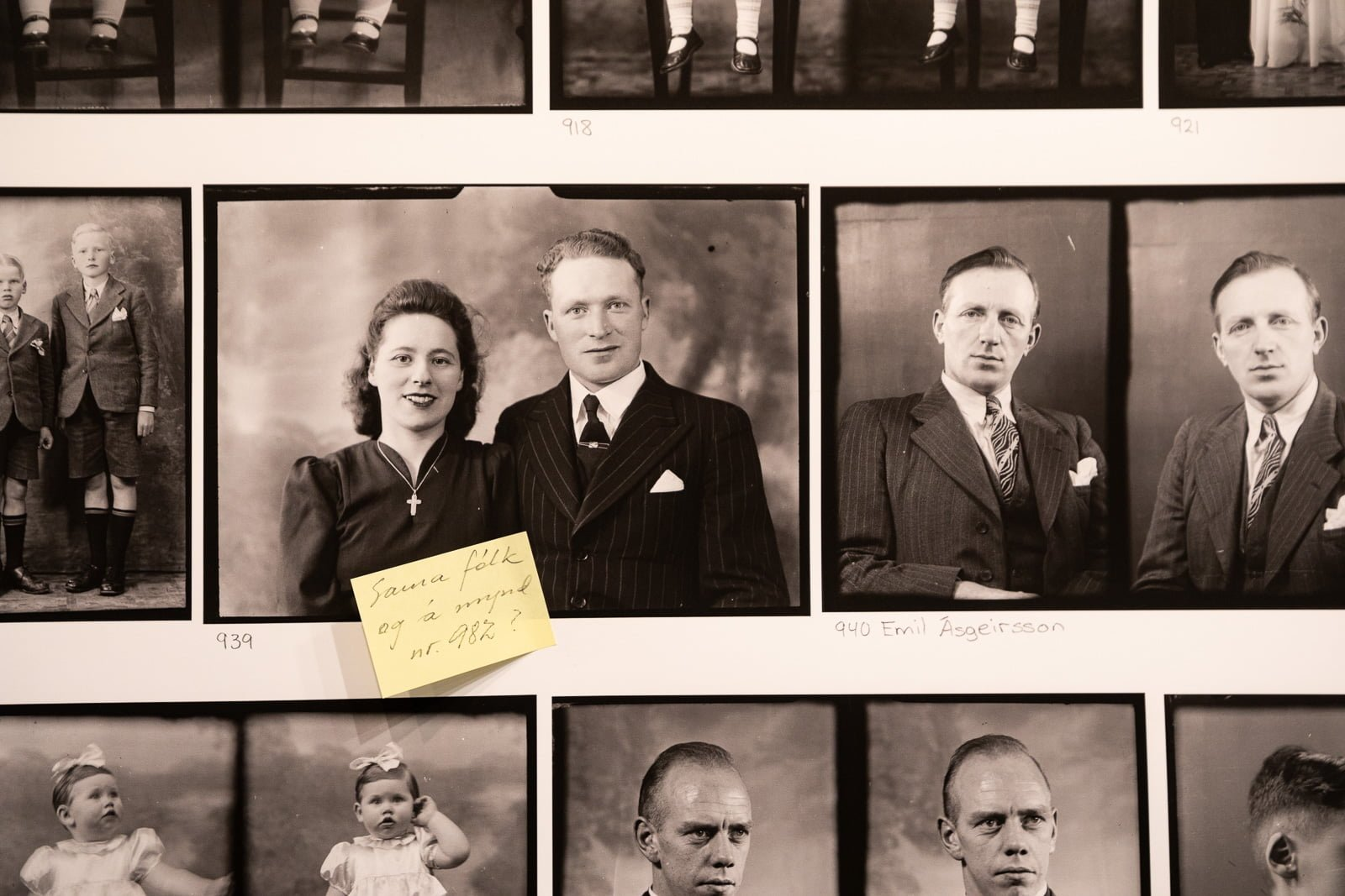 """""""Who's In The Picture?"""" New Exhibition Identifies Unknown People In Old Photographs"""