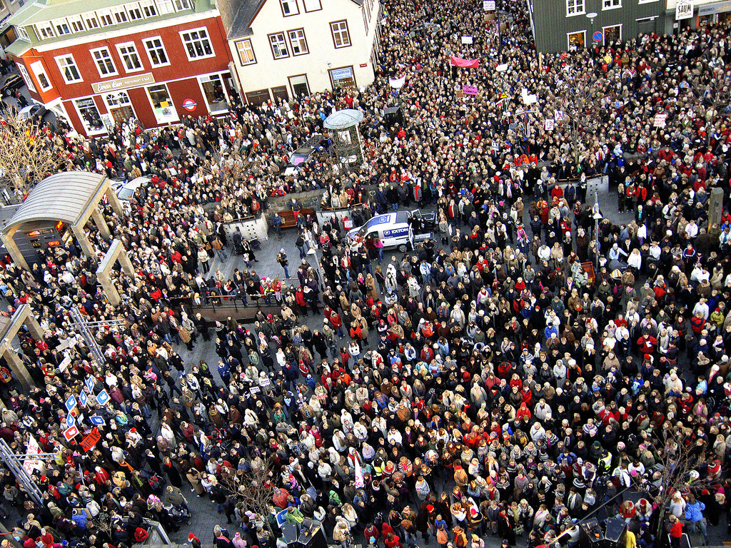 In Response To Gender Wage Gap, Women In Iceland Leaving Work Today At 14:38