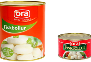 Icelandic Food: Fish Balls In A Tin