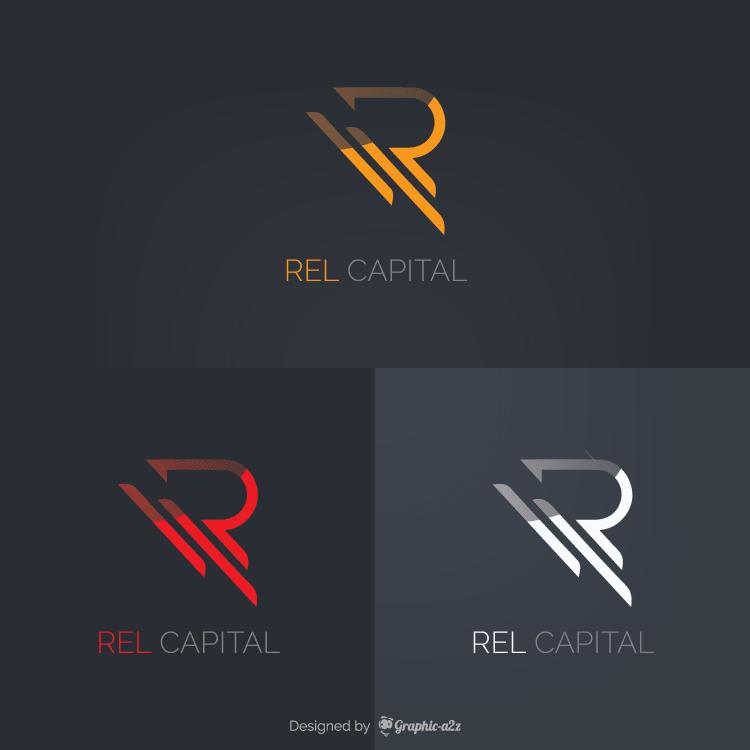 Creative vector letter r logo design elements
