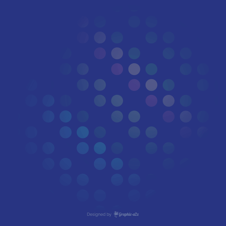 Abstract light blue circle background on graphic-a2z