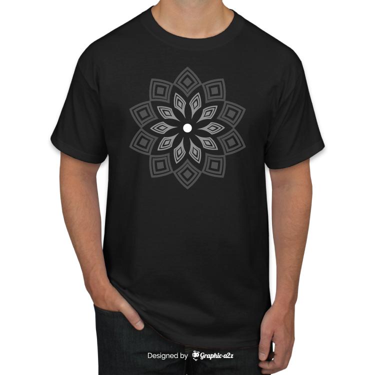 Simple T-shirt vector design