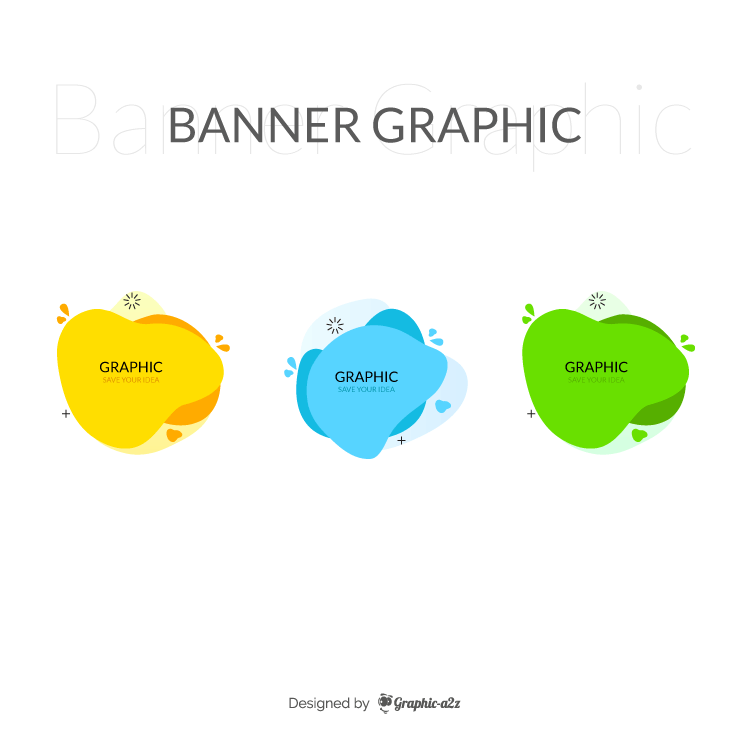 Modern Abstract Banners Flat Vector Design