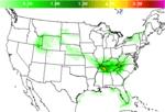 National Precipitation Amount Forecast Image