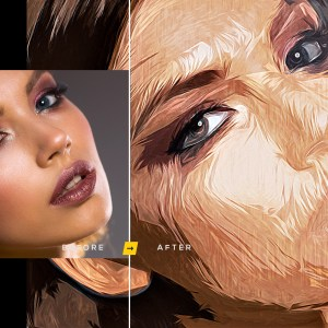 Artistic Painting Effect