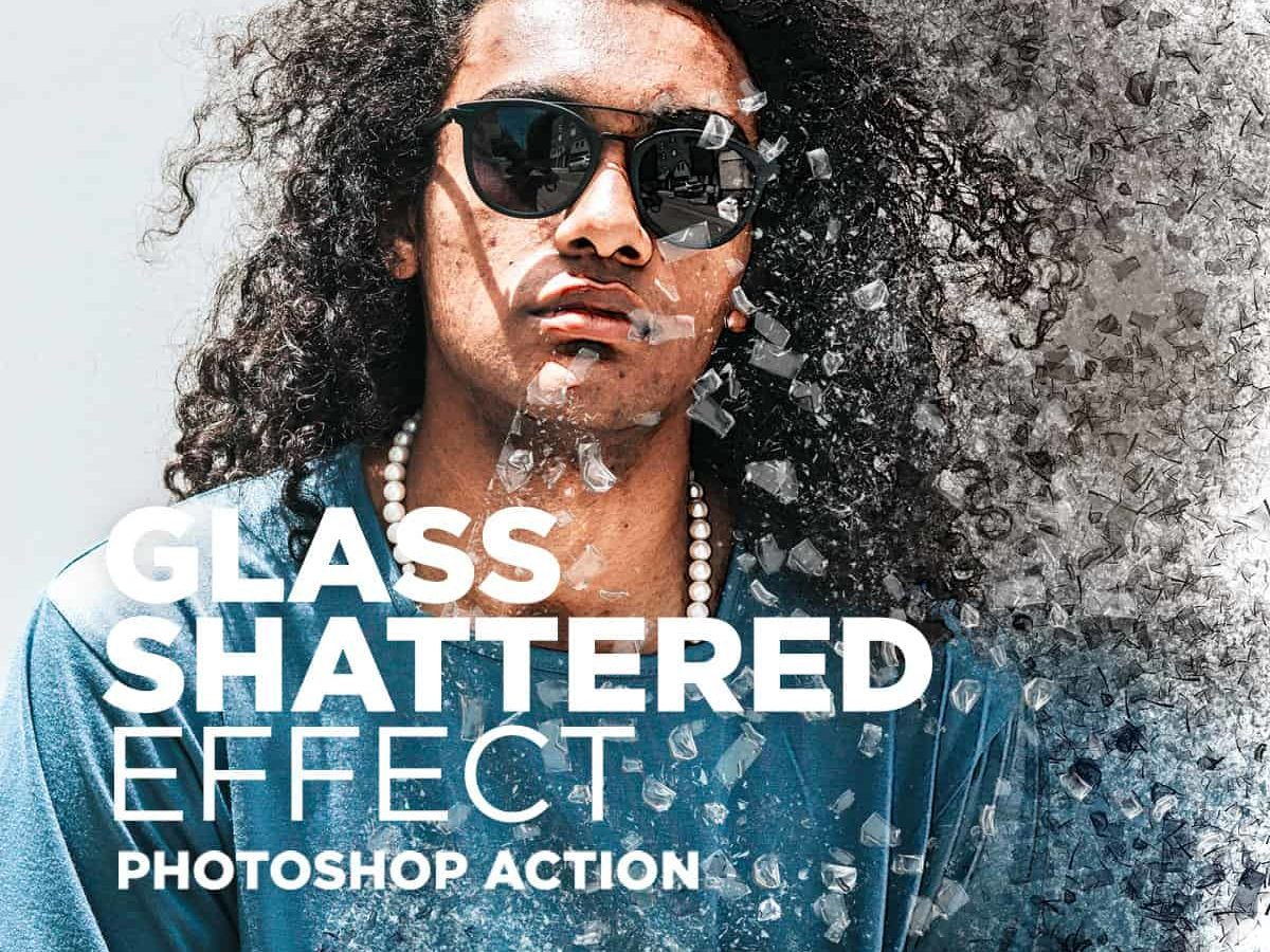 Glass Shattered Effect