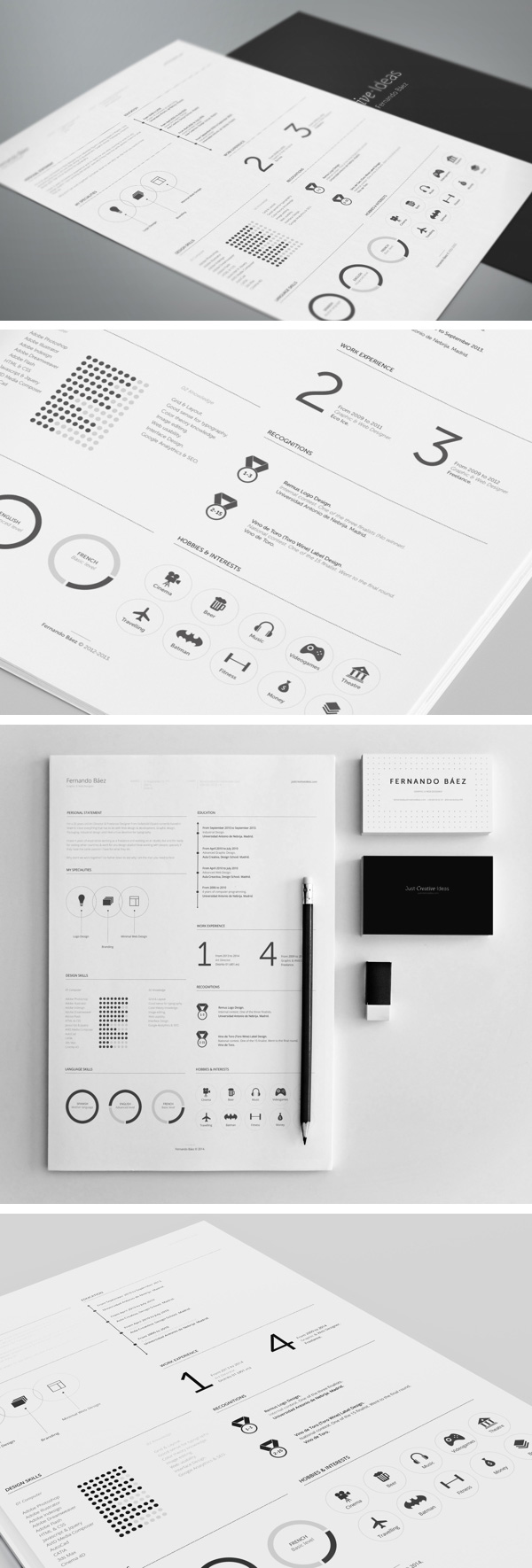 Professional Resume Template   GraphicBurger Professional Resume Template