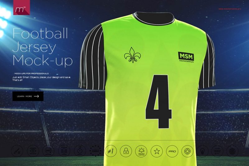 Download 15+ Realistic Jersey Mockup PSD for Branding - Graphic Cloud