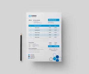 Hexagon Premium Corporate Invoice Template