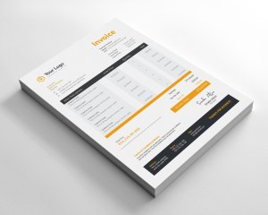 Modern Business Invoice Design
