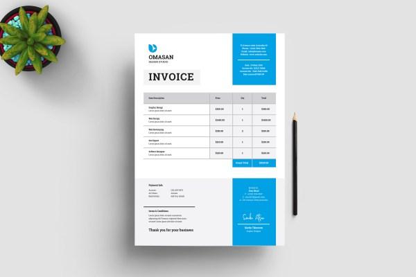 Stylish Business Invoice Templates