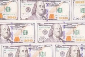 Cash money dollar stock photo