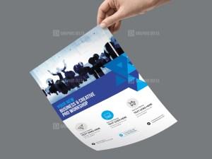 PSD Meeting Business Flyer Template