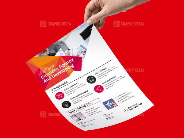 PSD Clean Corporate Flyer