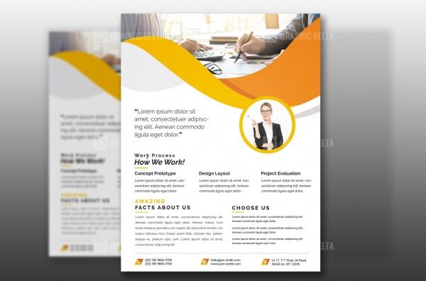 PSD Modern Corporate Flyer