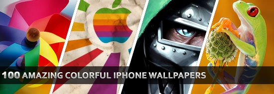 Post image of 100 Amazing Colorful iPhone Wallpapers – for  iPhone Lovers – Free Download