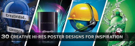 Post image of 30 Creative Hi-Res Poster Designs for Design Inspiration