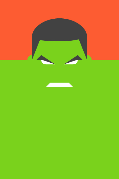 Hulk Illustration