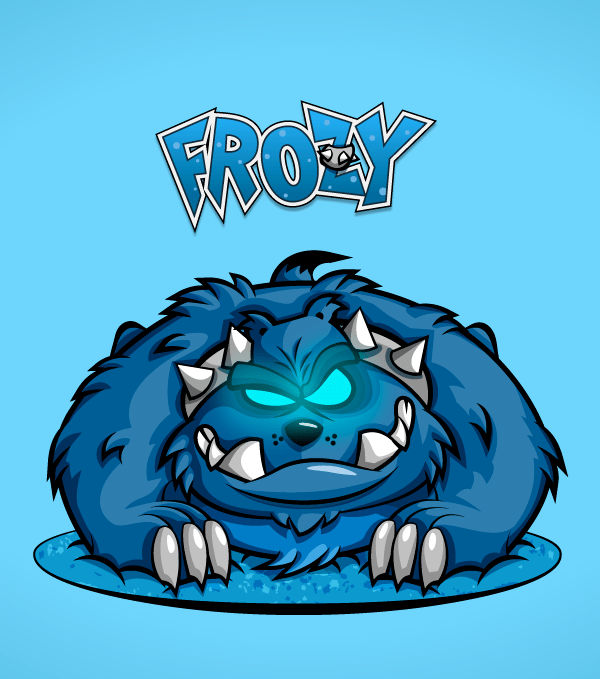 Frozy Mascot