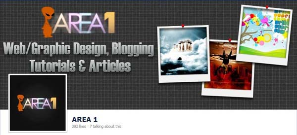 Area1 Facebook Timeline Cover