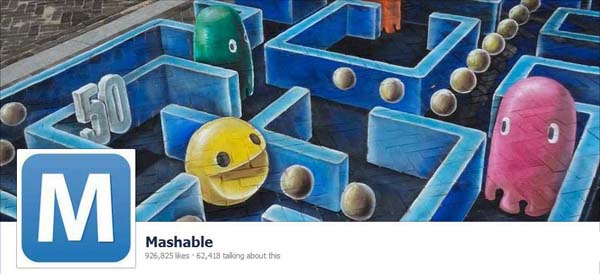 Mashable Facebook Timeline Cover