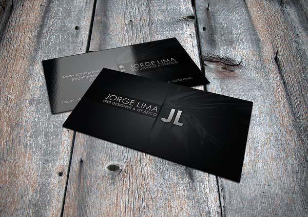 Jorge Lima Business Card Design