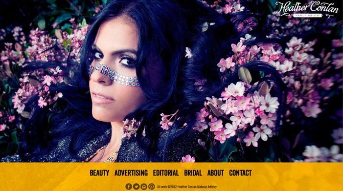 Beautiful Examples Of Dark Colors In Web Designs