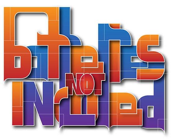 Remarkable Big Typography Design 40