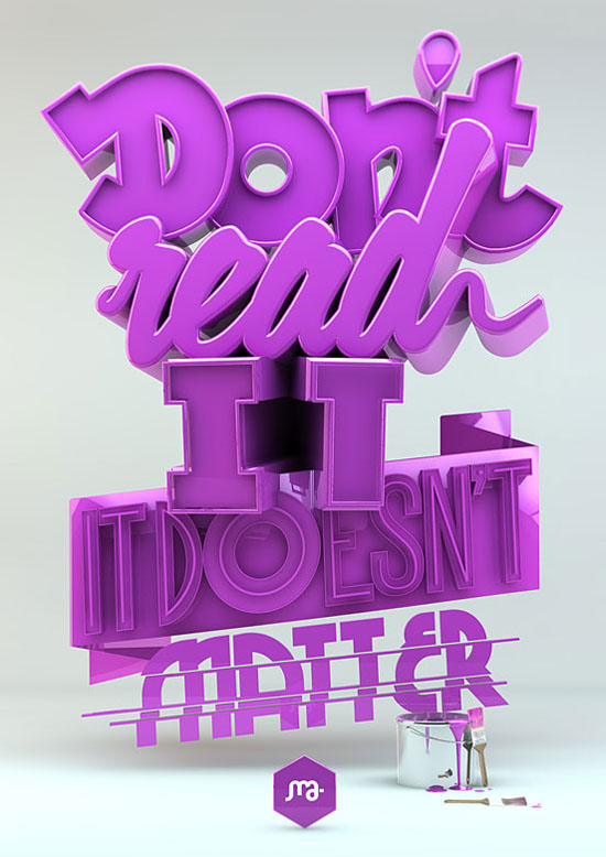 Remarkable Big Typography Design 41