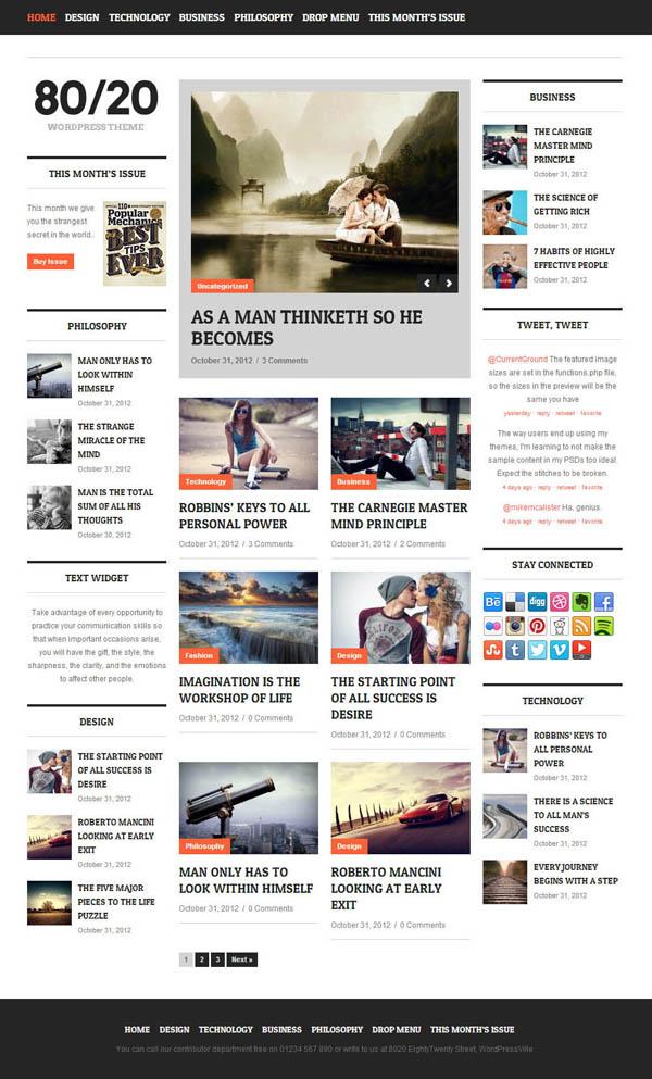 Top Premium News and Magazine Responsive WordPress Themes - 7