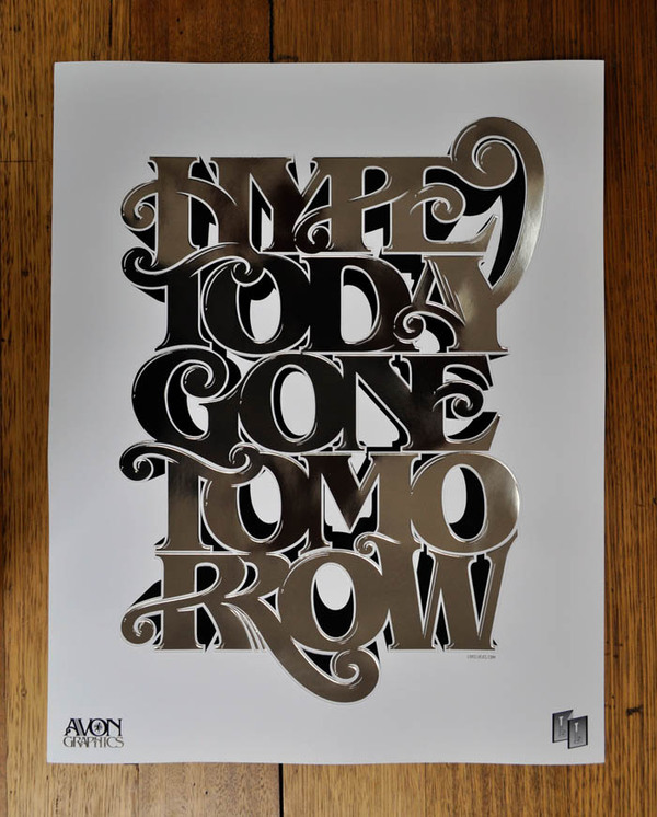Typography Posters Design 12
