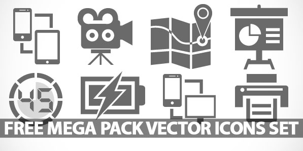 Download Free Mega Pack Vector Icons Set: 450+ Icons | Icons ...