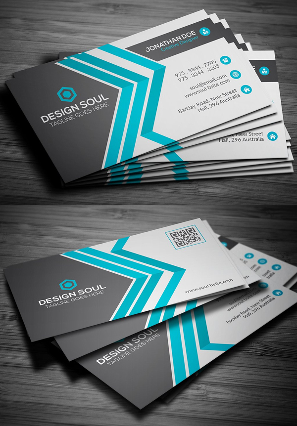25 New Modern Business Card Templates (Print Ready Design) – Mixed ...