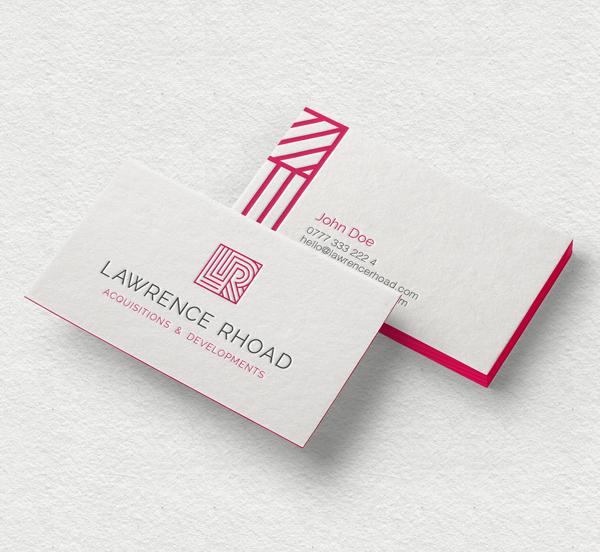 Branding: Lawrence Rhoad - Business Card