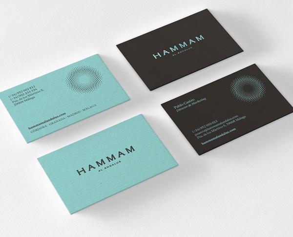 Branding: HAMMAM AL ÁNDALUS - Business Card