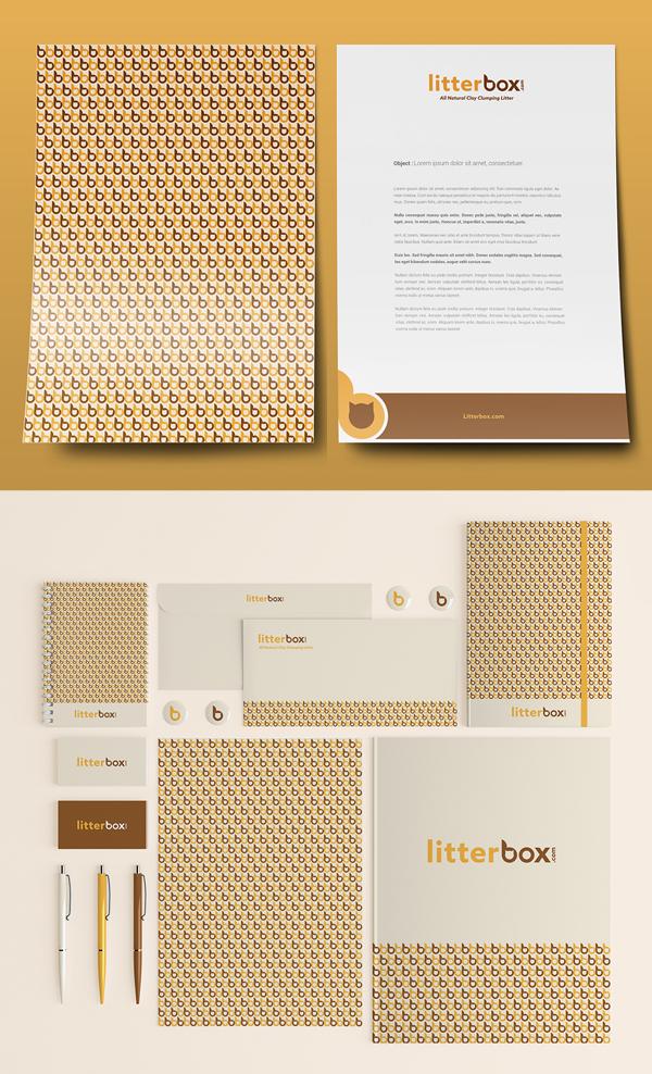 Branding: Litterbox - Stationary Items