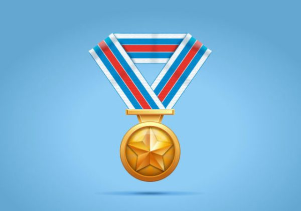 Cómo crear una medalla de oro en Adobe Illustrator
