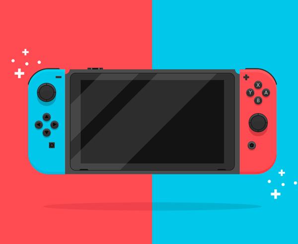Cómo crear un interruptor de Nintendo en Adobe Illustrator