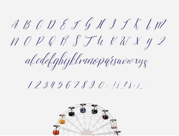 Alivia Script Letras de letras gratis