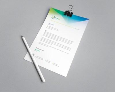 Apollo Professional Corporate Letterhead Template