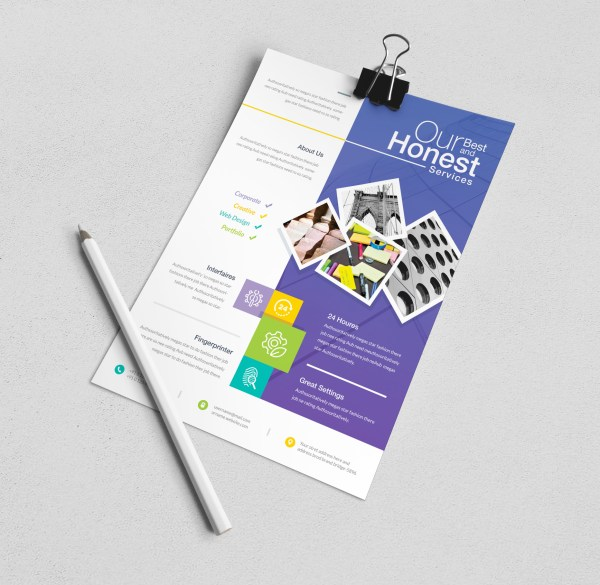 Demeter Elegant Corporate Flyer Template
