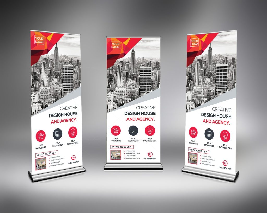 Roll-Up Banner Templates